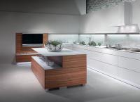 Warendorf - grifflose Küche in Tineo und Weiß