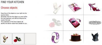 Schritt 2 - Auswahl der bevorzugten 3 Objekte