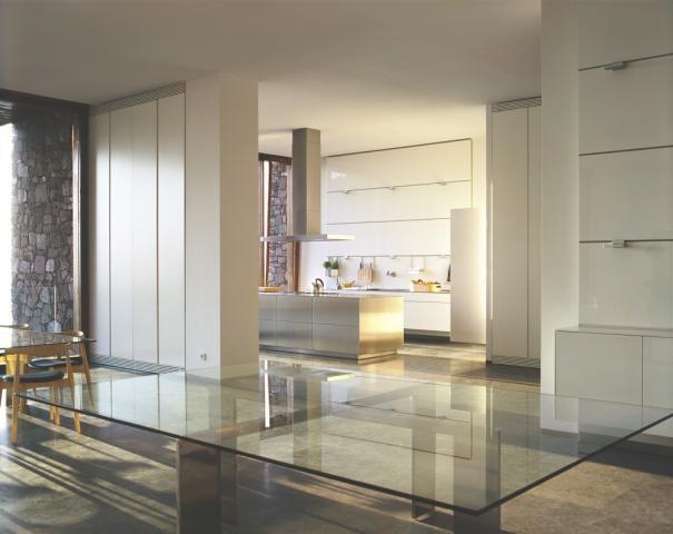 bulthaup b3 wohnsituation mit panellen und elementen des. Black Bedroom Furniture Sets. Home Design Ideas